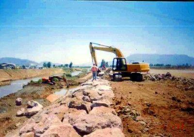 Defensas Fluviales Río Mapocho Rural